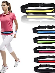 Close Belt Super Light Weight Sports Running Waist Pouch Bag Pocket Belt  for Store Smartphone/Keys/Wallet-Iphone6
