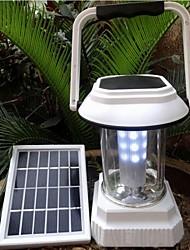 lámpara de energía solar conducido camping y valla noche