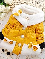 Girl's Cotton/Polyester Down & Cotton Padded/Jacket & Coat , Winter/Spring/Fall Long Sleeve
