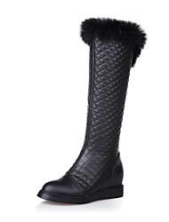 botas de mujer zapatos de moda botas altas hasta la rodilla bajo el talón más colores disponibles