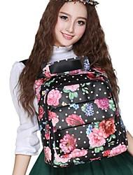 Women's Cute Style Colorful Flowers Pattern Crossbody Bags