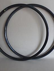 udelsa llantas mtb carbono 650b tubular 27.5er llantas de bicicleta de 23 mm de profundidad de 27 mm de ancho (1 par)