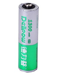 delipow 1.2v 1300mah aa batterie rechargeable au nickel-cadmium