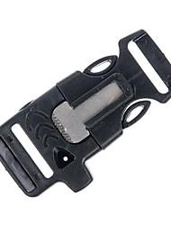 полезно открытый выживание ж / кремня огонь стартер скребок свисток Paracord браслет