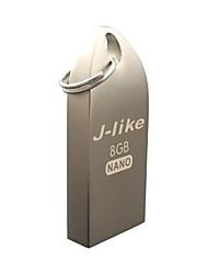 j-like® zinynano 8gb usb2.0 flash drive pen drive