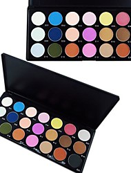 21 Color Matte Professional Eye Shadow Makeup Cosmetic Palette with Mirror&Applicator Set A