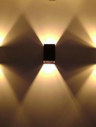 Modern Minimalist Three-dimensional Wall Sconce