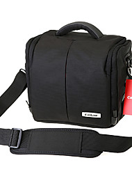 canbale single-ombro saco da câmera c100 com capa de chuva