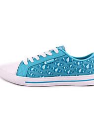 Zapatos de mujer ( Azul/Amarillo/Púrpura Lienzo