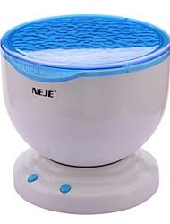 neje oceaan golf projector lamp met mp3 speaker / led nachtlampje