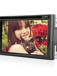6.2Inch Universal 2 Din In-Dash Car DVD Player with ,GPS,BT,RDS,ISDB-T,Touch Screen RL-263WGIR02