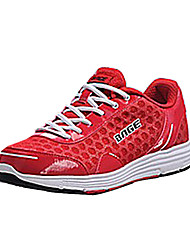 Men's Running Shoes Fabric Red