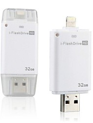 i-FlashDrive lampo OTG usb flash pen drive 32gb per apple iphone 5 5s 6 più& mini aereo ipad