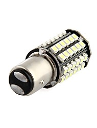 voiture queue 2pcs ampoule de sauvegarde 1,157 BA15D 80 3528 SMD conduit dc 12v blanc jhk179001