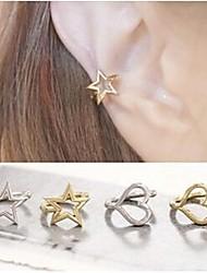 poignets star fashin européen et alliage de coeur oreille (1,2,3,4) (1pc)