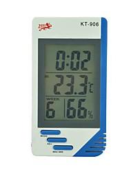 temperatura y medidor de humedad kt906 (temperatura / tumidity / hora / despertador / calendario / hora)
