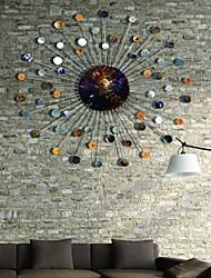 bellabello®metal parede decoração da parede arte, estilo antigo cirle abstrato ferro forjado parede decoração
