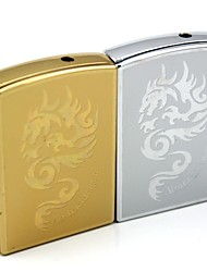 Personalized Engraving Dragon Pattern Metal Electronic Lighter