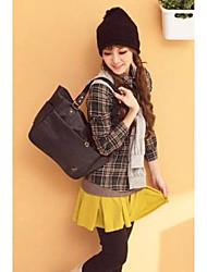 moda falso due pezzi leggings gonna legato giallo