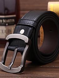 MG Men's Leather High Quality Belt