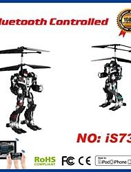 i-contrôle hélicoptère robot 2.5ch rc avec le compas gyroscopique pour iPhone, iPad et Android