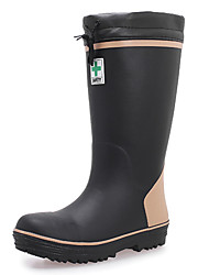 Men's Shoes Outdoor Rubber Boots Black/Gray
