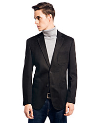 Slim Notch Jacket In Polyester&Viscose Fiber