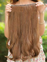 Cosplay Wigs Cosplay Cosplay Brown Medium Anime Cosplay Wigs 50 CM Heat Resistant Fiber Female
