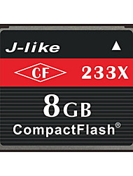 J-Like® CompactFlash Card  8GB Memory Card 233X