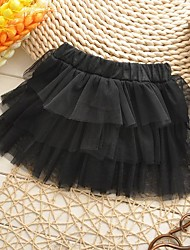 Girl's Mesh/Polyester Skirt , Summer/Spring/Fall