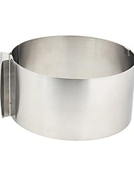 Boxed Stainless Steel Round Cake Separated Mould Activity Mousse Ring