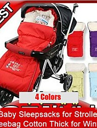 0-3 Years Newborn Baby Stroller Sleeping Bags Baby Sleepsacks Cart Basket Infant MBaby™ 4 Colors Fleebag Cotto