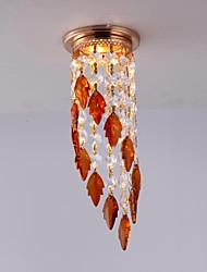couleur rose style moderne cristal spot avec ampoule led pour chambre / couloir / balcon