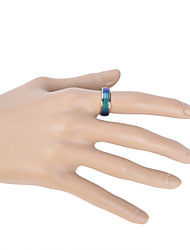 Fashion Women Simple Circle Mood Ring