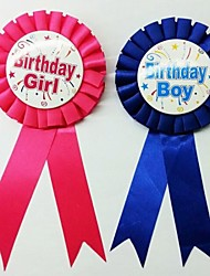 Party's Decorations Birthday Badge