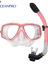 OceanPro adulto Minos mascherare set snorkel secco