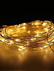 impermeáveis 10W 100x0603smd lâmpada de cobre macio morno luzes brancas (dc 12v / 1.000 centímetros)