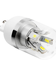 4W G9 LED лампы типа Корн T 10 SMD 5730 280 lm Тёплый белый / Холодный белый AC 85-265 V