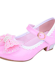 Girl's Shoes Wedding Shoes Heels Heels Wedding/Outdoor/Dress/Casual/Party & Evening Blue/Pink/Red