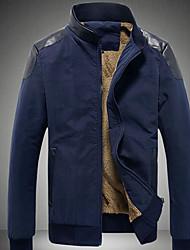 homens Dibai lazer moda atsnd casaco equipada colar
