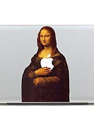SkinAT photo amovible mona lisa sticker autocollant tablette ordinateur portable pour MacBook Pro 15, Pro 15 rétine, 135 * 205mm