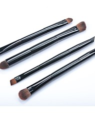4 Makeup Brushes Set Nylon Face / Lip / Eye Others