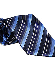 Blue&Dark Blue Striped Tie