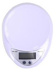 megoodo balanza de cocina digital (5kg resolución max / 1g)