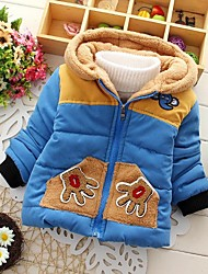 Boy's Cotton Down & Cotton Padded,Winter Patchwork