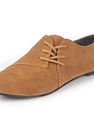 sapatos femininos dedo do pé redondo mocassins de salto plana sapatos mais cores disponíveis