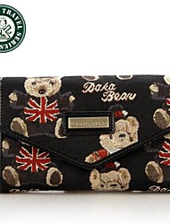 DAKA BEAR® Fashion PU Leather Bag Wallet Ladies' Women's Purses Ladies' Handbags Clutch Bag