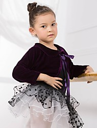 Ballet Dancewear Kids' And Women's Cotton And Velvet Ballet Dance Top(More Colors) Kids Dance Costumes