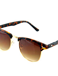 Sunglasses Men / Women / Unisex's Classic / Sports / Fashion Browline Black / Brown / Leopard / Matte Black Sunglasses Full-Rim