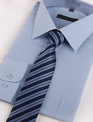 Men Party / Work / Casual Neck Tie,Polyester Striped All Seasons